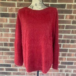 NWT LC Lauren Conrad fuzzy sweater